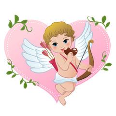 キューピッド チョコ バレンタイン ハート