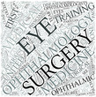 Ophthalmology Disciplines Concept