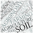 Agronomy Disciplines Concept