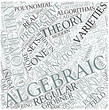 Algebraic geometry Disciplines Concept