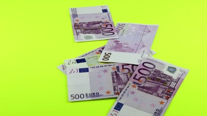 Banknoten Fünfhundert Zweihundert