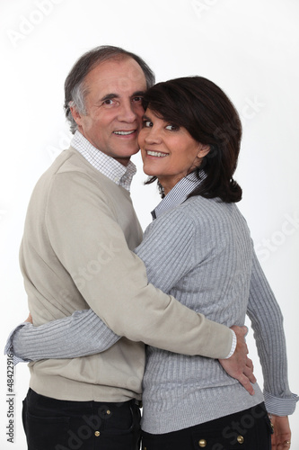 Portrait of a loving couple