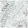 High-performance computing Disciplines Concept