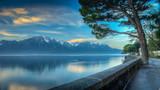 Lake Geneva Morning HDR - 48424347