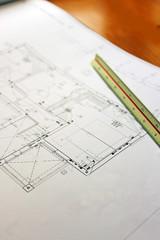 住宅の設計図