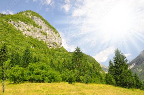 Valley Voje in Triglav National Park - Julian Alps, Slovenia