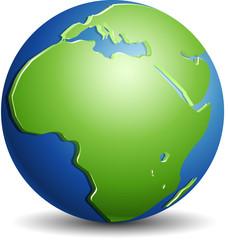 Africa globo