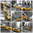 Fototapeten,new york city,york,taxi,taxi