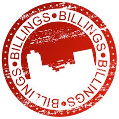 Stamp - Billings, USA