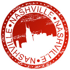 Stamp - Nashville, USA