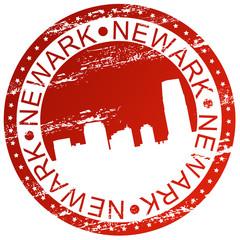 Stamp - Newark, USA
