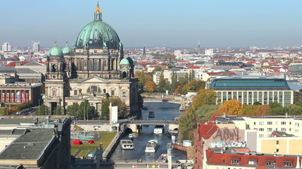 Skyline from Berlin - Time Lapse Video