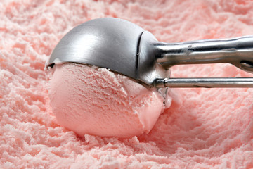 Strawberry ice cream