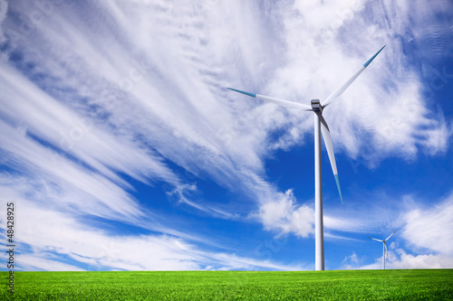 Turbine on green field