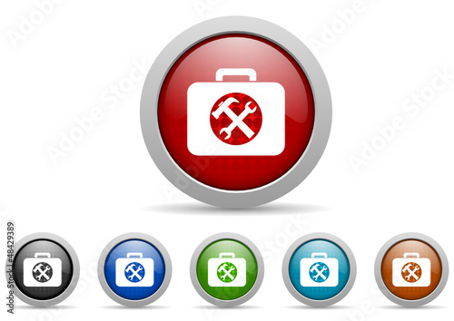 toolkit vector icon set