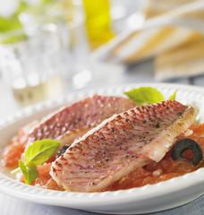 Filet de Rougets provençaux