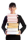 Teacher with Books