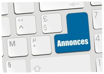 clavier annonces