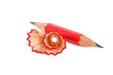 Beidseitig angespitzter Bleistiftstummel