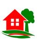 Logo Haus mit Baum