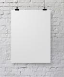Fototapety white poster