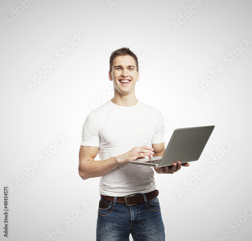 men with laptop