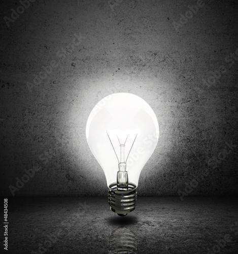 lightbulb with room