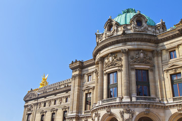 Opera building in Paris