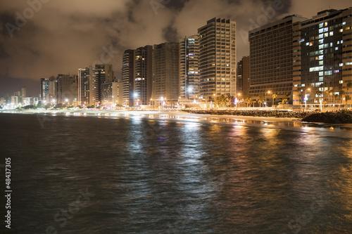 Fortaleza in Brasilien nachts