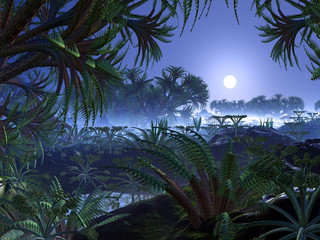 Alien Jungle World