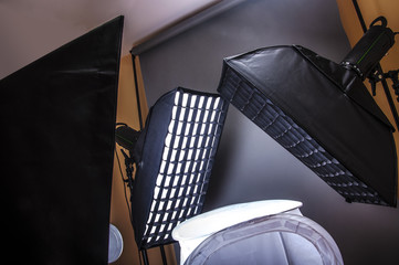 Mini photography studio
