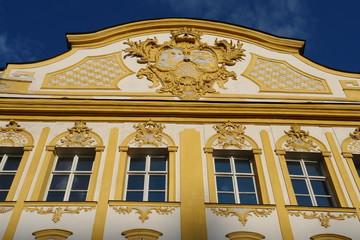 Fassade Burghausen