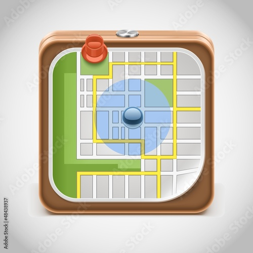 gps vector icon xxl