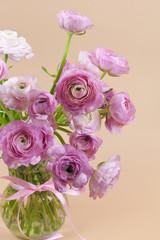 Flowers art design. Wedding holiday card