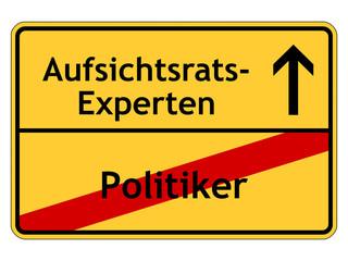 Politiker - Aufsichtsrats-Experten