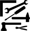 Werkzeug Silhouette