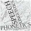 Phonetics Disciplines Concept