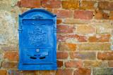 Blue mailbox - 48444534