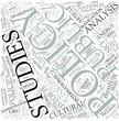 Policy studies Disciplines Concept