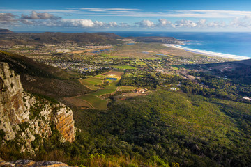 Noordhoek beach from Silvermine