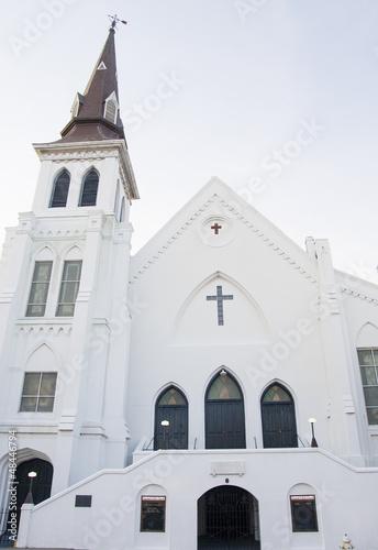 Old White Plaster Church