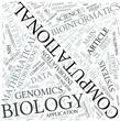 Computational biology Disciplines Concept