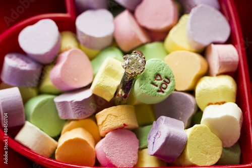 Canversation Heart candies