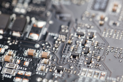 Microelectronic technology in computer industry