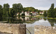 Medieval French Riverside Village