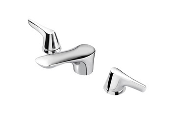 modern designed of chrome faucet for hot and cold water