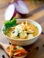 Soup - Grießnockerlsuppe