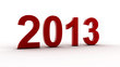 New 2013 year greeting, lucky 2013, happy new year