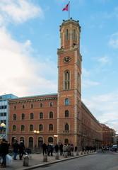 Die alte Post in Hamburg