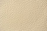 Beige Patterned Artificial Leather Background Texture poster